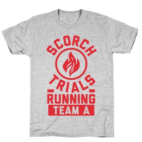 Scorch Trials Running Team A T-Shirt