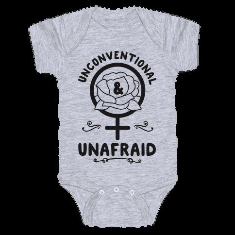 Unconventional & Unafraid Baby Onesy