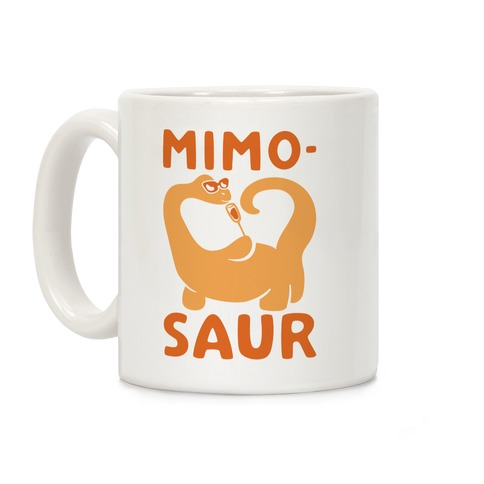 Mimosaur Coffee Mug