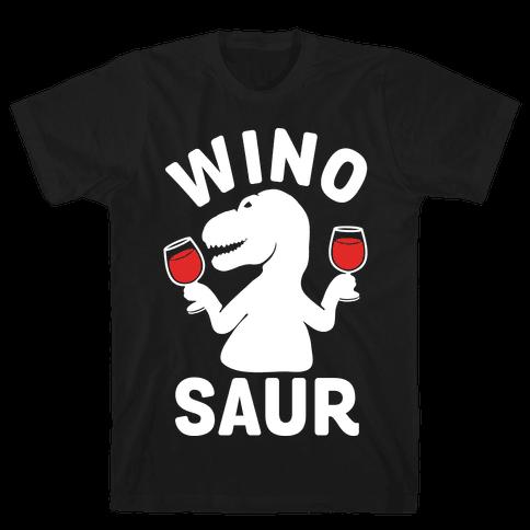 Winosaur Mens T-Shirt