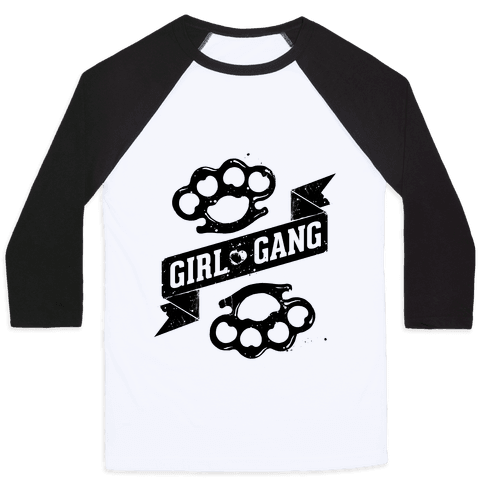 Girl Gang Baseball Tee