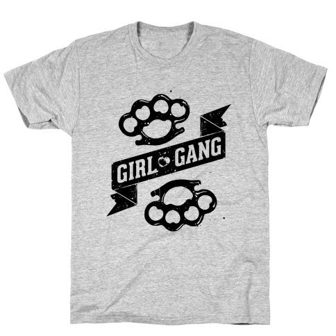 Girl Gang Mens T-Shirt