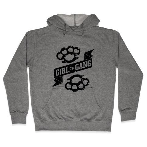 Girl Gang Hooded Sweatshirt