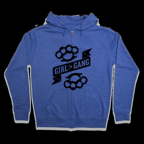 Girl Gang Zip Hoodie