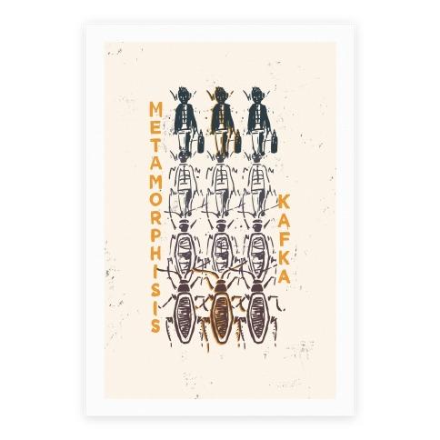 Kafka's Metamorphosis Poster
