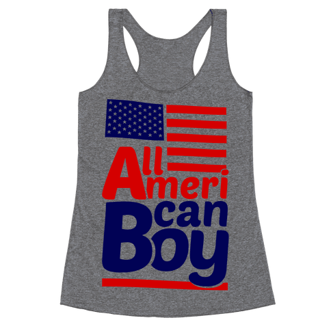 All American Boy Racerback Tank Top