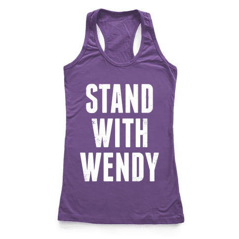 Stand With Wendy Racerback Tank Top