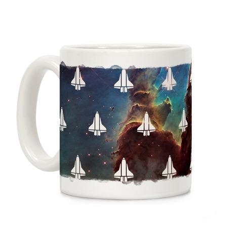 Eagle Nebula Space Race (Alternate) Coffee Mug