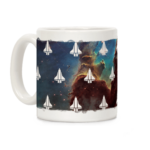 Eagle Nebula Space Race (Alternate) Coffee Mug