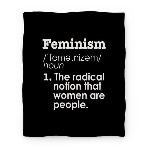 Feminism Definition Blanket