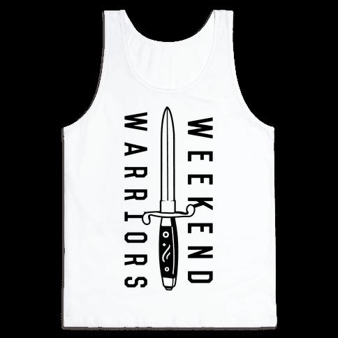 Weekend Warriors Tank Top