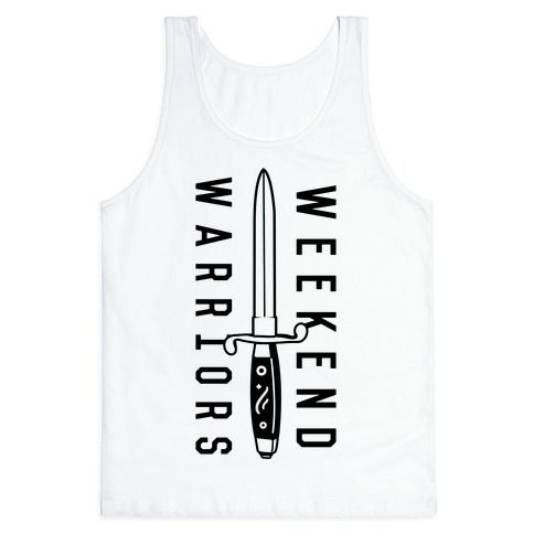 Weekend Warriors Tank Top