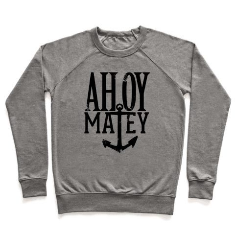 Ahoy Matey Pullover