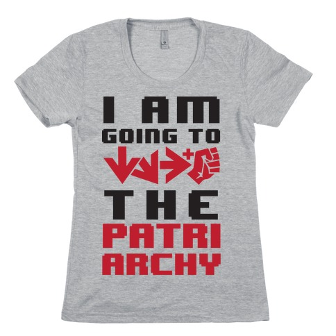 I Am Going To Hadouken The Patriarchy Womens T-Shirt