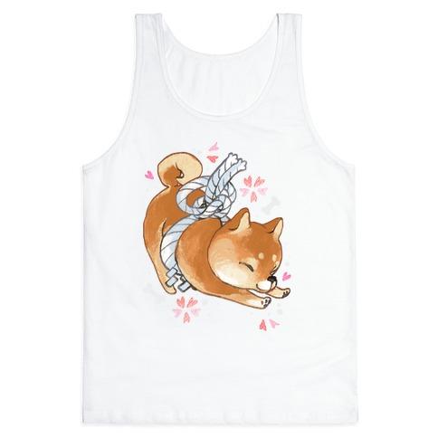 Shiba Inu Dog Tank Top