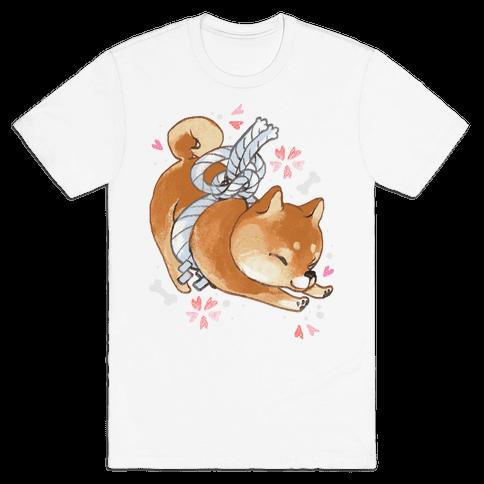 Shiba Inu Dog Mens T-Shirt