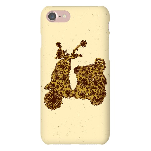 Floral Vespa Phone Case