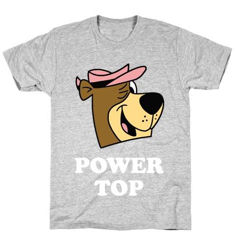 Power Top & Party Bottom (Bear) T-Shirt