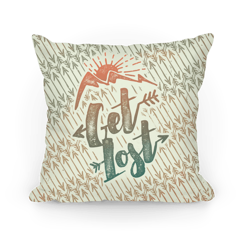 Get Lost Pillow