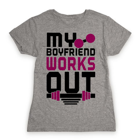 Swole Boyfriend Womens T-Shirt