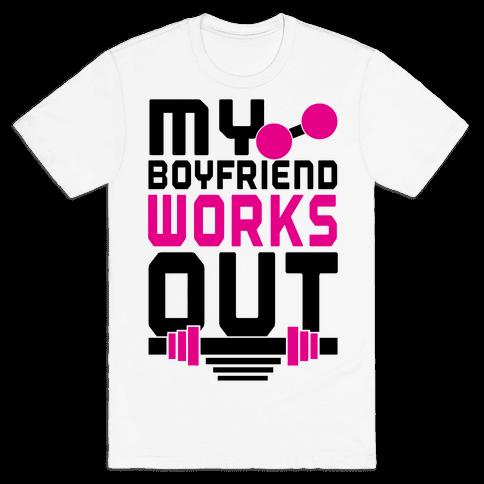 Swole Boyfriend Mens T-Shirt