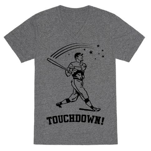Touchdown V-Neck Tee Shirt