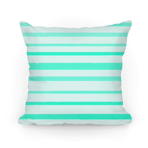 Teal Watercolor Stripe Pattern