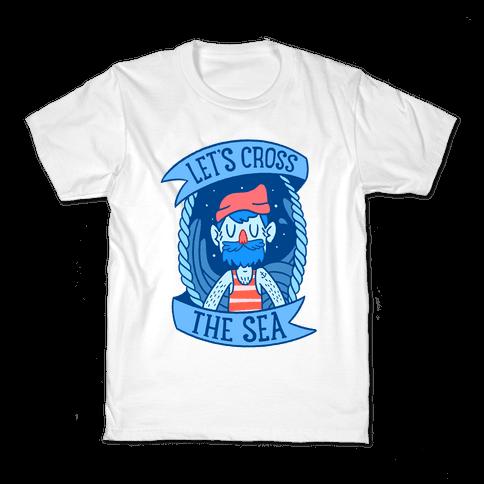 Let's Cross The Sea Kids T-Shirt
