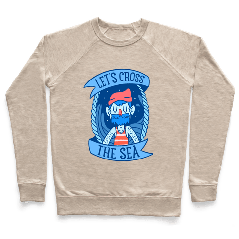 Let's Cross The Sea Pullover
