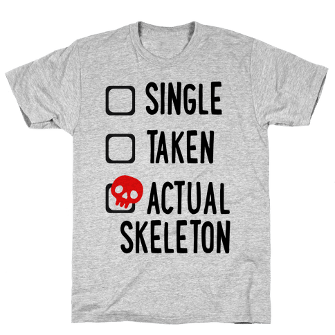 Actual Skeleton Mens T-Shirt