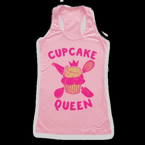 Cupcake Queen Racerback Tank Top