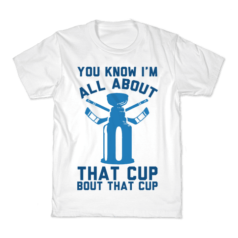 You Know I'm All About That Cup Bout That Cup Kids T-Shirt