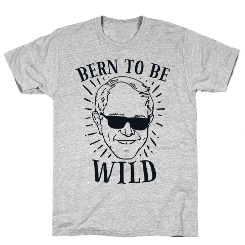 Bern to be Wild Mens T-Shirt