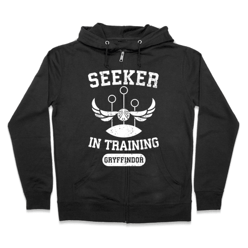 Seeker In Training (Gryffindor) Zip Hoodie