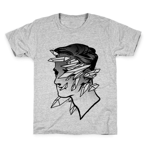 Crystal Faced Stranger Kids T-Shirt