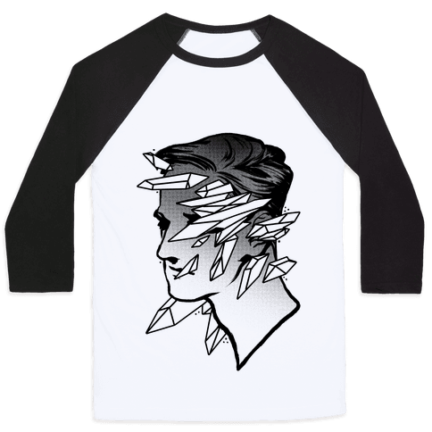 Crystal Faced Stranger Baseball Tee