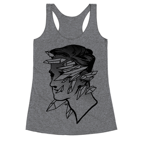 Crystal Faced Stranger Racerback Tank Top