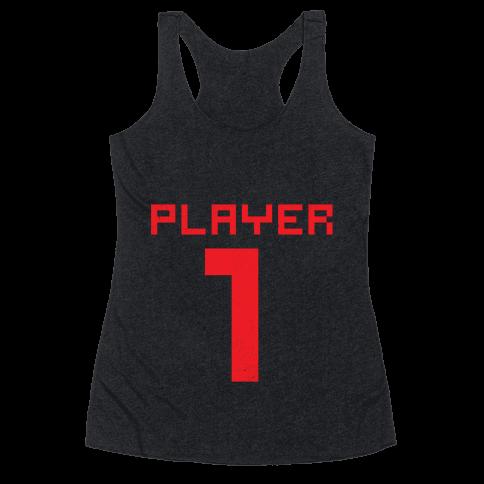 Player 1 Racerback Tank Top