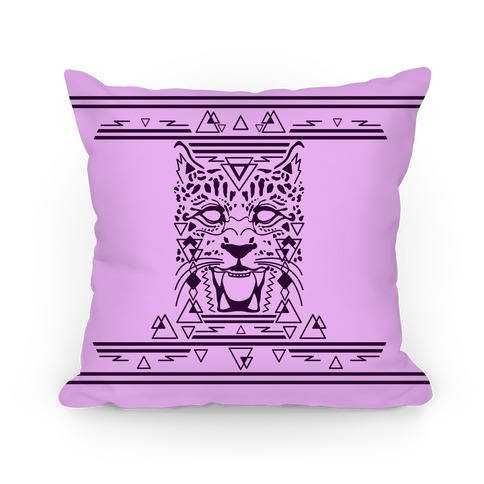 Egyptian Leopard Pillow