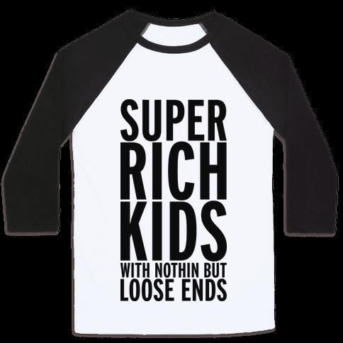 Super Rich Kids Baseball Tee