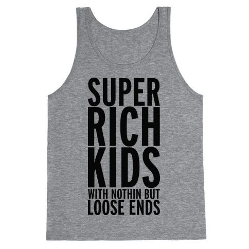 Super Rich Kids Tank Top