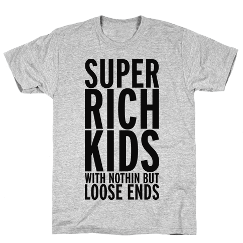 Super Rich Kids Mens T-Shirt