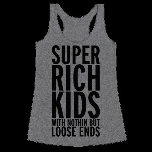 Super Rich Kids Racerback Tank Top