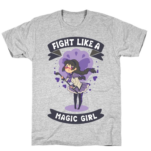 Fight Like A Magic Girl Parody Homura T-Shirt