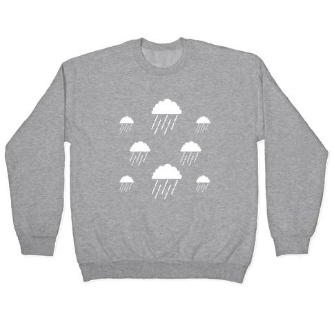 Minimalist Rain Clouds Pullover