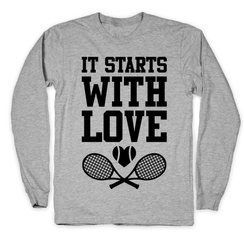 It Starts With Love Long Sleeve T-Shirt