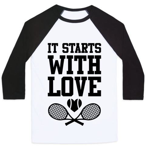 It Starts With Love Baseball Tee