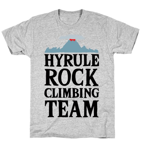 Hyrule Rock Climbing Team T-Shirt