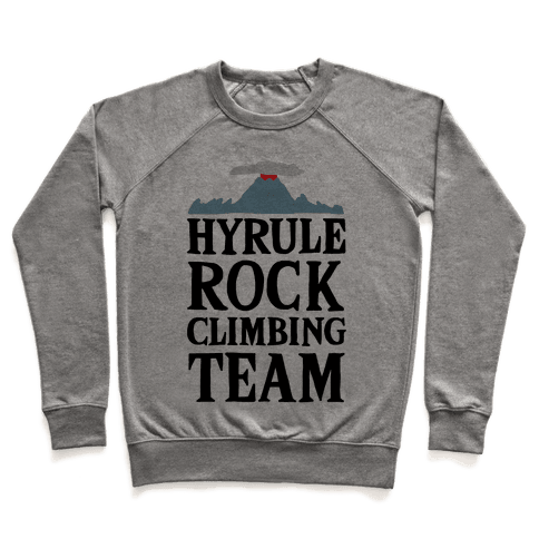 Hyrule Rock Climbing Team Pullover
