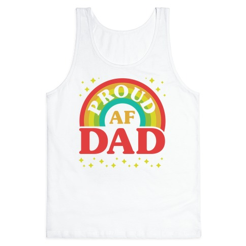 Proud AF Dad Tank Top